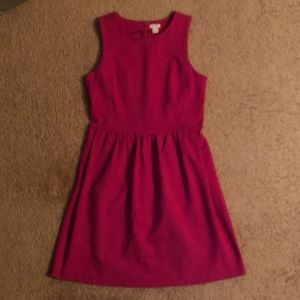 J. Crew Fuchsia Knit Dress Sz. S